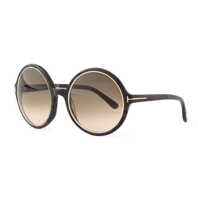 Glasses Frame Tom Ford : Carrie Round Frame Glasses by Tom Ford Shop Assistant ...