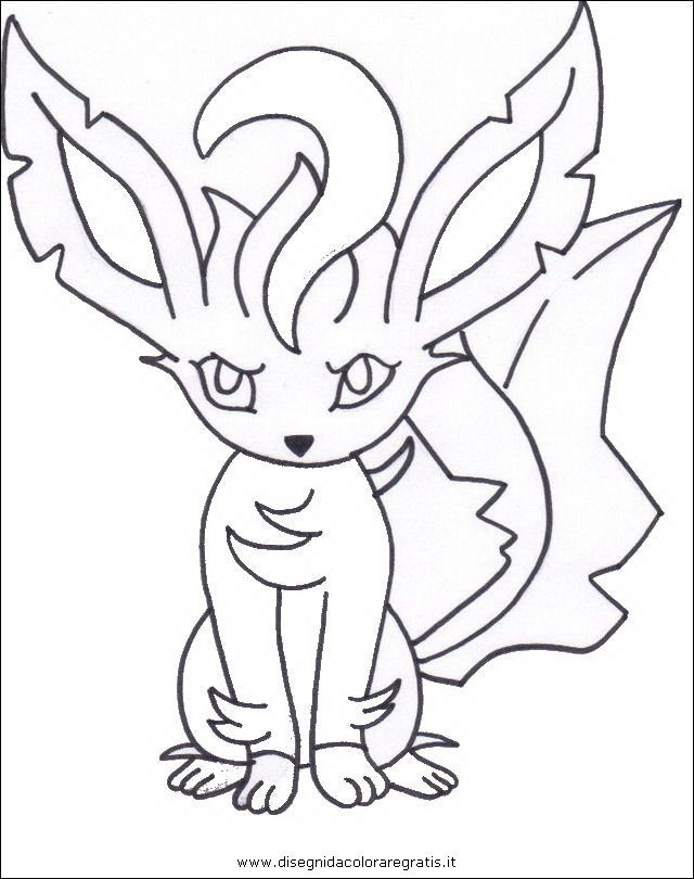 Leafeon Pokemon Coloring Page Youngandtae Com Pokemon Coloring Pages Pokemon Coloring Coloring Pages