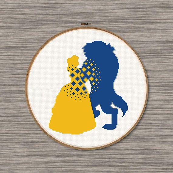 Shepherd Gold On Blue Silhouette Ornament: 601 Best Cross Stitch Images On Pinterest