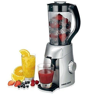 BLACK & DECKER SMOOTHIE MAKER BS600-B5 220 volts 50 Hz. WILL NOT WORK IN USA OR