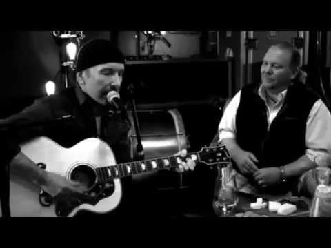 "U2 THE EDGE ""Running To Stand Still Acoustic 2015"" - YouTube"