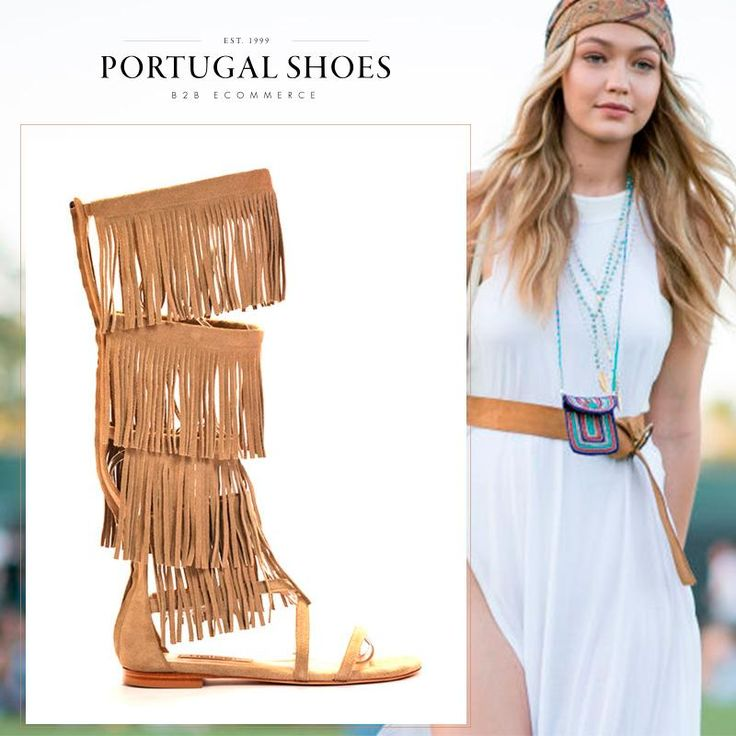 Coachella style! ☀ Explore these amazing sandals from Helsar collection http://bit.ly/1XqwYFV