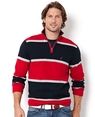Nautica big and tall shirt milano stripe shirt mens for Big and tall casual shirts