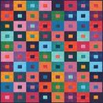 Stepping Stones Grunge Jelly Roll Quilt Kit featuring the Grunge Jelly Roll by BasicGrey for Moda