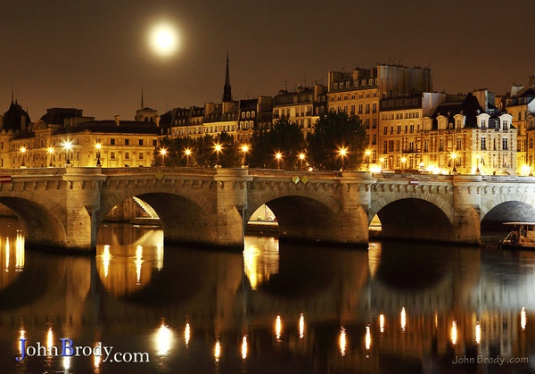Pont Neuf, Paris  Would someone please propose to me on this bridge?!  I promise I won't accept.