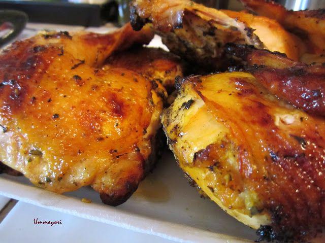 El Pollo Loco knock-off recipe Grilled Chicken Halves