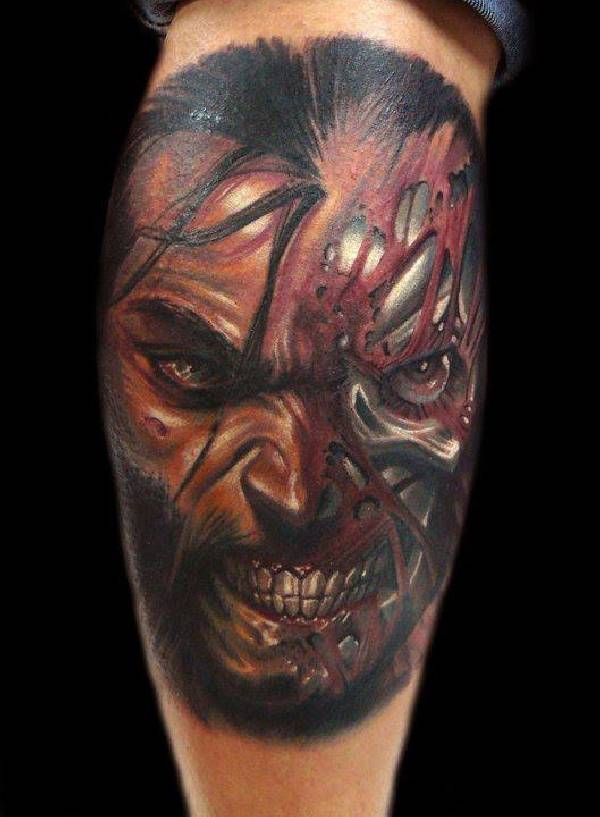 17 Best images about 40 eklige Horror-Tattoos on Pinterest