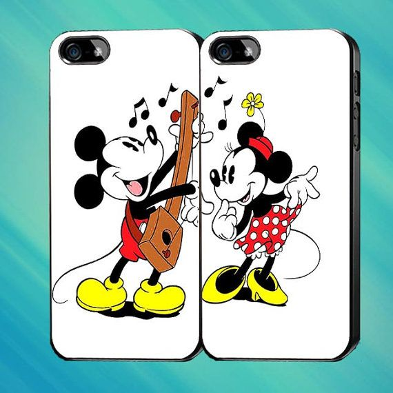 Disney Mickey Mouse and Minnie Mouse J Custom Case by Mendemdupo, $31.99
