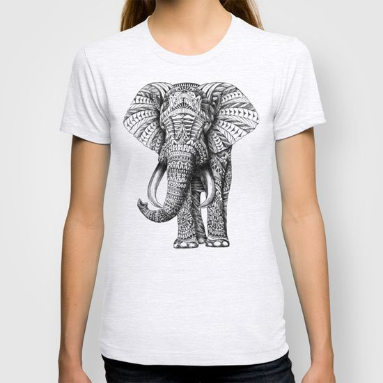Ornate Elephant T-shirt