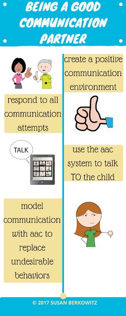 Find tips and resources for teaching AAC users and being a good communication partner.