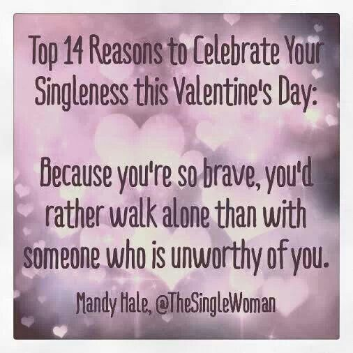 single for valentines day quotes