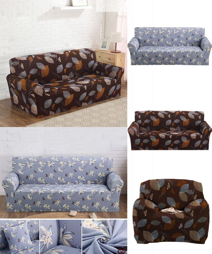 [Visit to Buy] Sofa Slipcovers 2017 Elastic Sofa Cover Cheap Cloth Printed Art Spandex Slipcover Big Couch cover Loveseat Sofa Funiture Covers #Advertisement