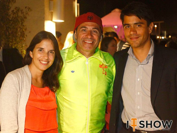 Elisa García Huidobro, Fernando Larraín y Roberto Mímica. Enjoy The Sunset en Enjoy Coquimbo