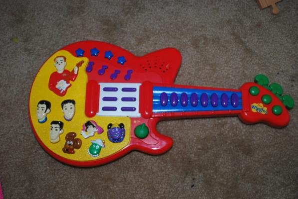 The Wiggles Play Guitar 8 Shipped Embroidery