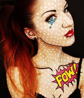 I can see jess doing this for a party... how col is it                                Bet this would be a BIG hit at some of our  Temp Tattoo & FacePainting events!
