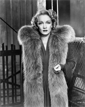 Marlene Dietrich 1930 You must pronounce her name correctly: Mahr-lay-nuh.
