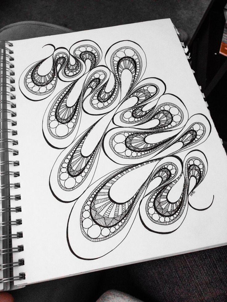 Weak In The Knees Doodle Drawing