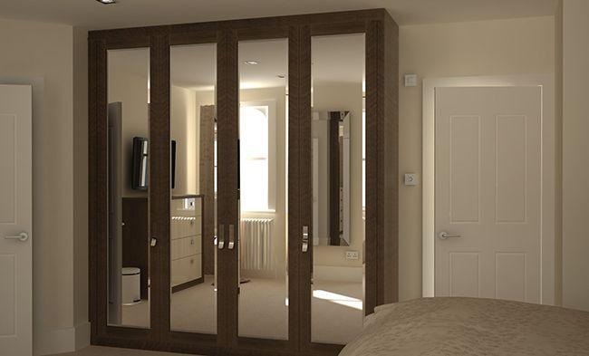built in mirrored wardrobes - Google Search