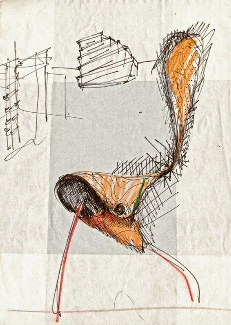 Driade EMPTY Chair by Ron Arad (1993)