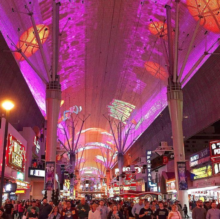 Fremont Street Vegas #tbt #vegas