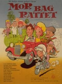 Mor bag rattet (1965) Lykke tager kørekort uden nogen ved det.