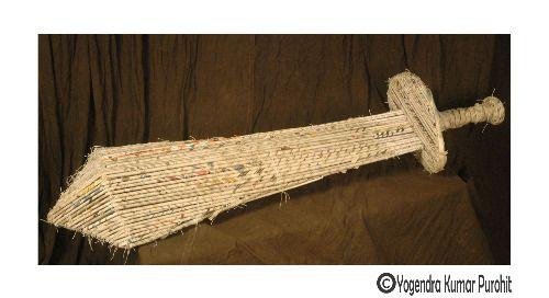 Paper Sculpture -39 , cost - 20,000 /- Rupees