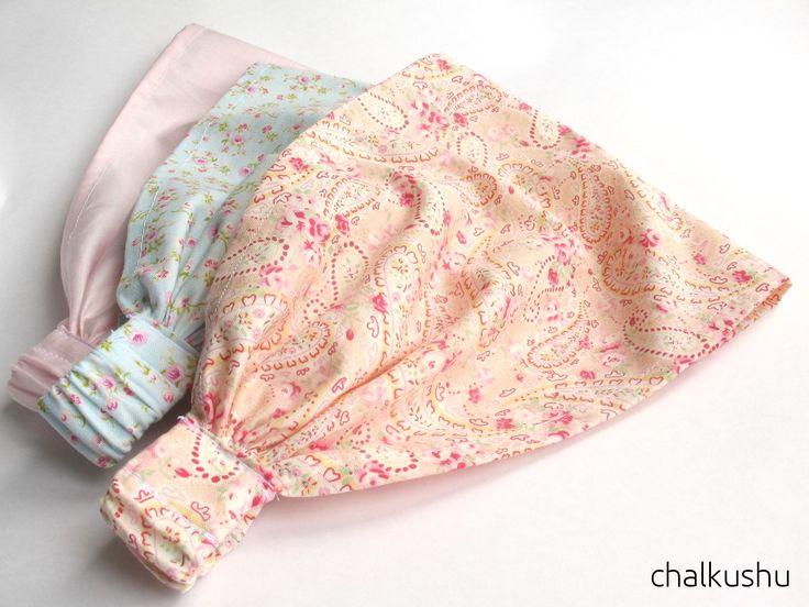 Цветочная поляна: Платочек на резинке для девочек МК