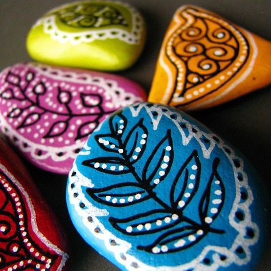 painted rocksIdeas, Painting Pebble, Painting Rocks, Pebble Painting, Rocks Painting, Painted Rocks, Painting Stones, Crafts, Rocks Art