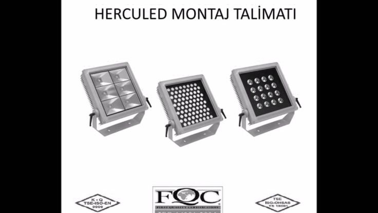 HERCULED LED Projektörler / HCL-P / HCL-B / HCL-S