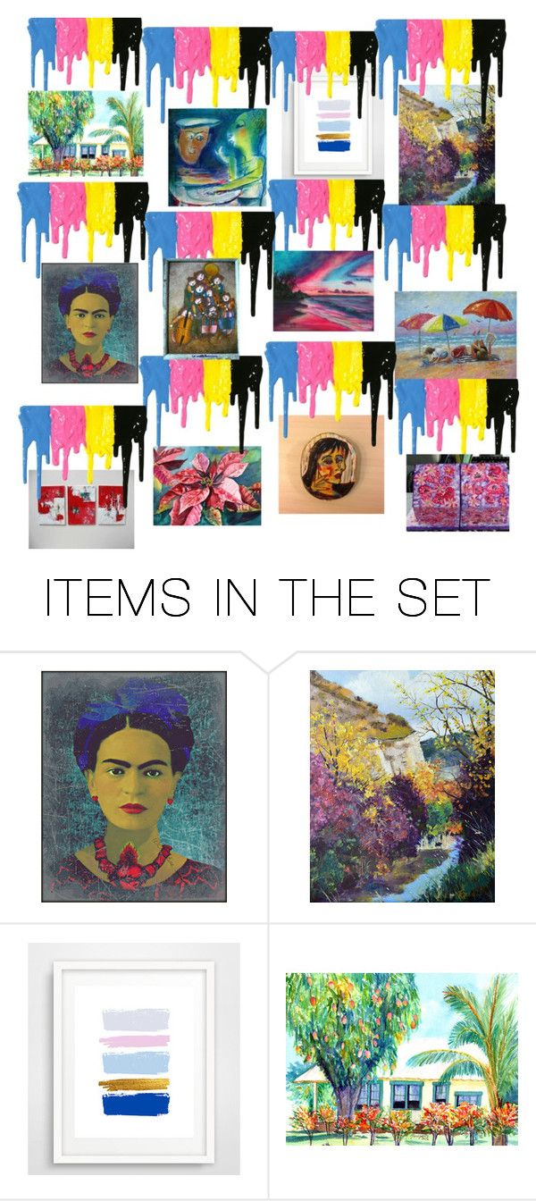 Eye Of The Painter by pippinpost on Polyvore featuring art, etsy, painting, shopsmall and integrityTT