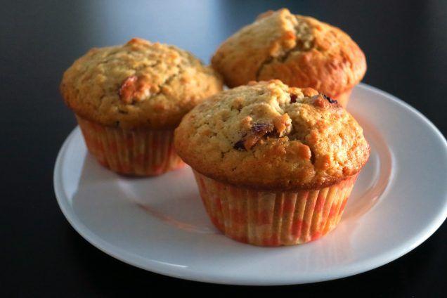 Recept voor makkelijke cranberry havermoutmuffins - Etenbijsindy.nl