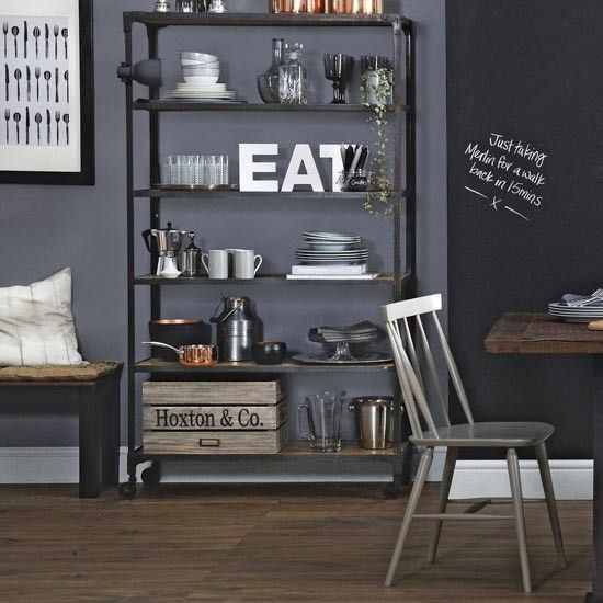 Utility shelving unit | Traditional utility room design ideas | Utility room | PHOTO GALLERY | Ideal Home | Housetohome.co.uk