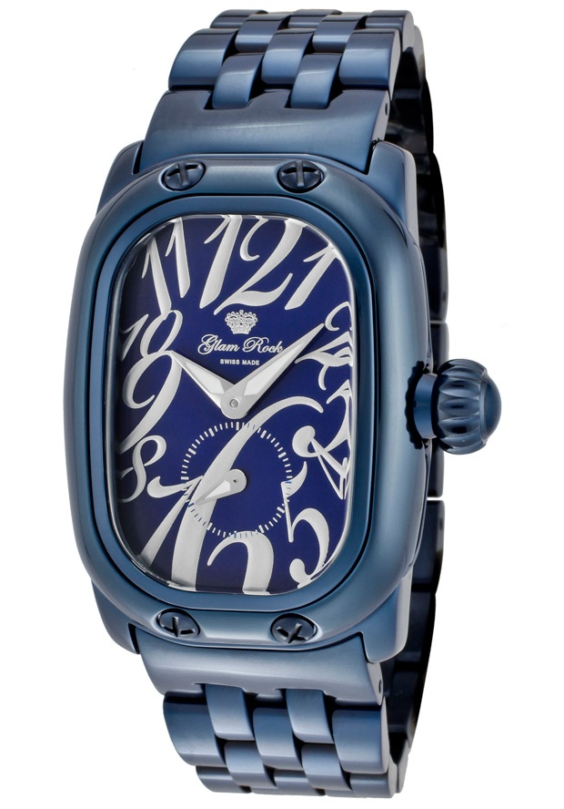 Price:$237.31 #watches Glam Rock GR72306, Add an understated look to your outfit with this unique and detailed Glam Rock watch.