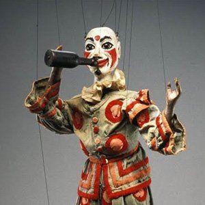 Vaudeville Vintage Puppet at Detroit Institute of Arts