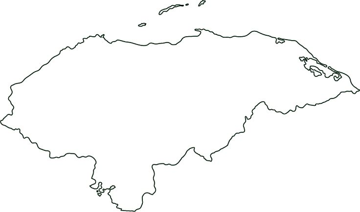 10 best spain images on pinterest maps spain and spanish our honduras outline map great for geography homework and quizzes honduras blank test map from world atlas gumiabroncs Images