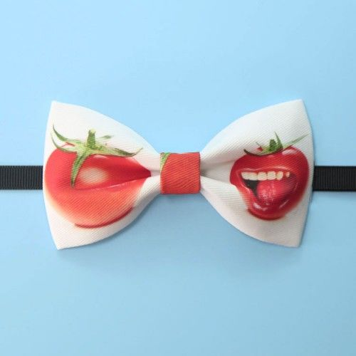 Tomato series tie bow bow tie gift tide