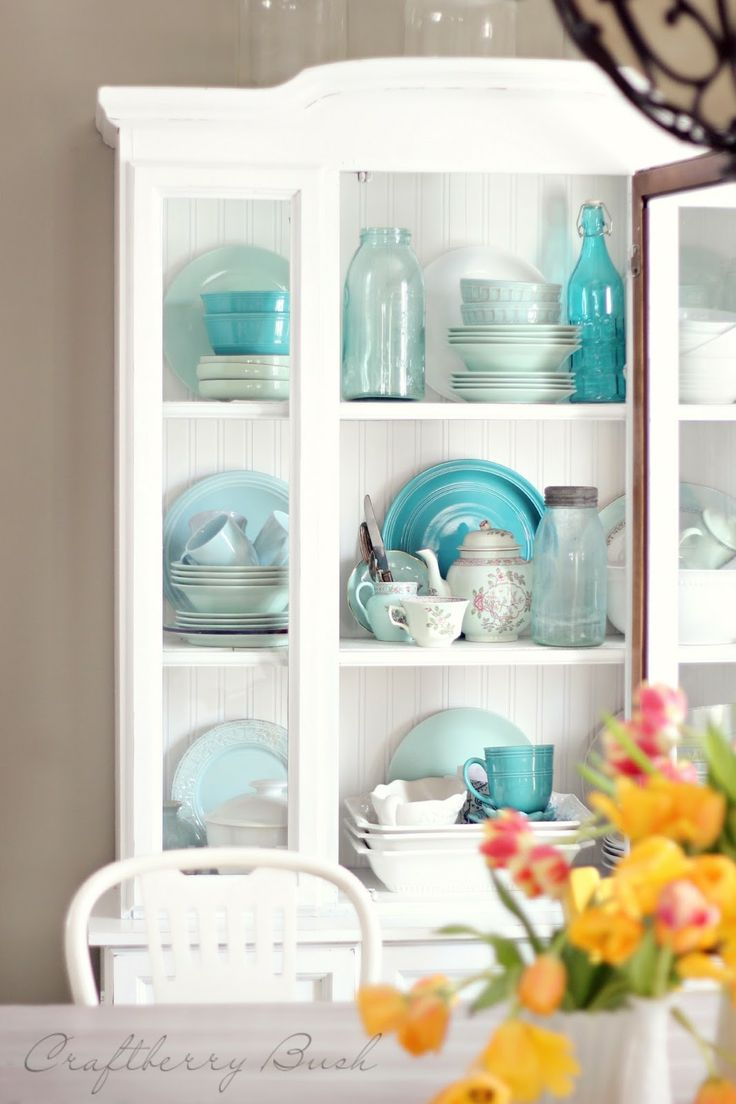 105 best Ideas for my hutch images on Pinterest | Dining room ...