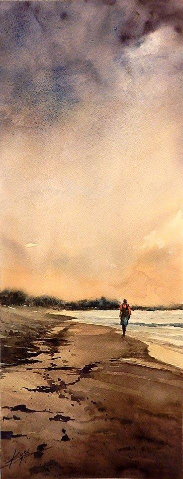 ACUARELAS KUBI http://www.SeedingAbundance.com http://www.marjanb.myShaklee.com #watercolorarts