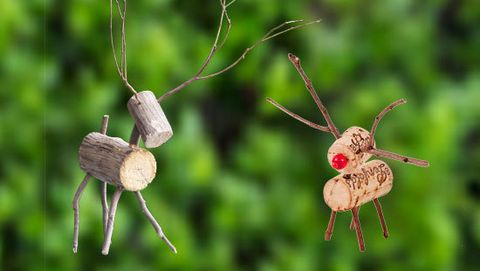 How to make a rustic reindeer - Better Homes and Gardens - Yahoo! New Zealand
