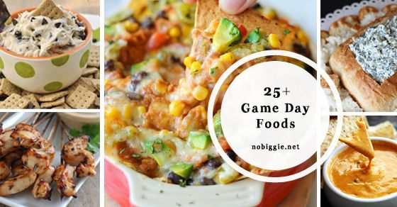 25+ Game Day Food Ideas
