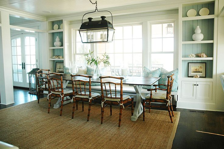 126 best Diningroom Tables w/ Bench Seating (banquettes) images on ...