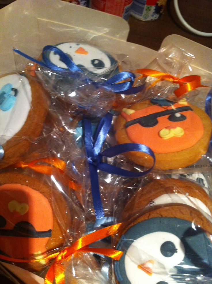 Octonauts Cookies to the rescue!
