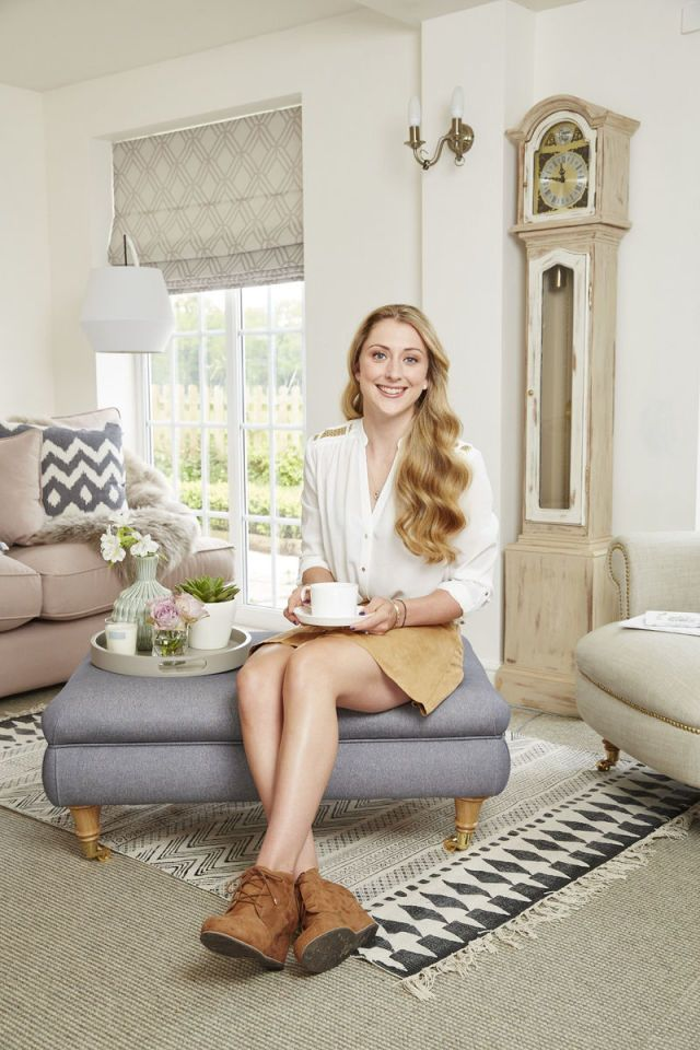 Double Olympic gold medalist Laura Trott's country cottage home makeover  - housebeautiful.co.uk