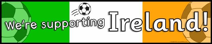Ireland football/soccer display banners