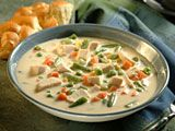 VeryBestBaking.com | Cream of Chicken and Vegetable Soup