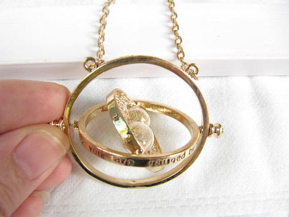 Harry Potter TIME TURNER NECKLACE Hermione Granger by congcongshop, $2.00