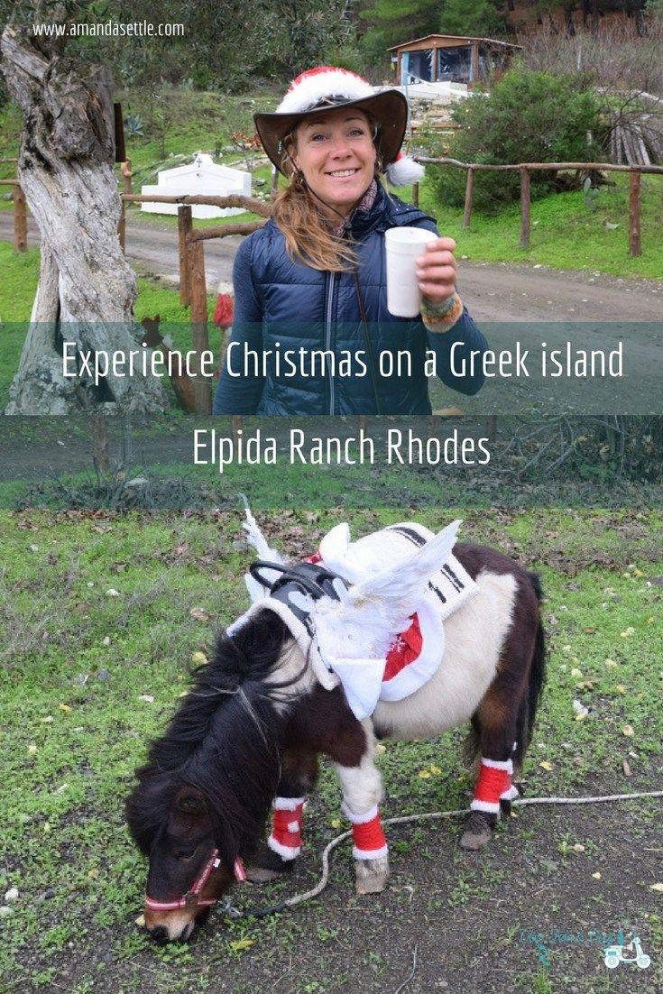 Experience Christmas on a Greek island