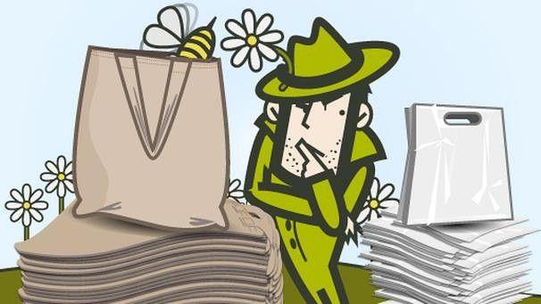 Was ist umweltfreundlicher? Plastik- oder Papiertüte