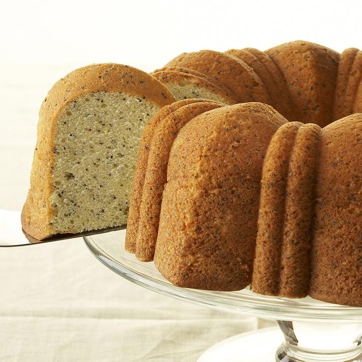 Easy Lemon Poppy Seed Cake from @Erin McCormick Spice @Erin McCormick ...