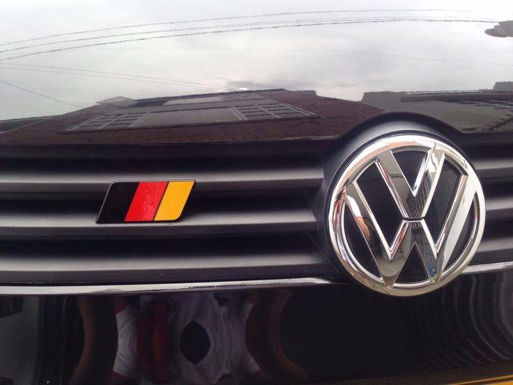 (15) Emblema Bandera Alemana,volkswagen Gol - $ 30.000 en MercadoLibre